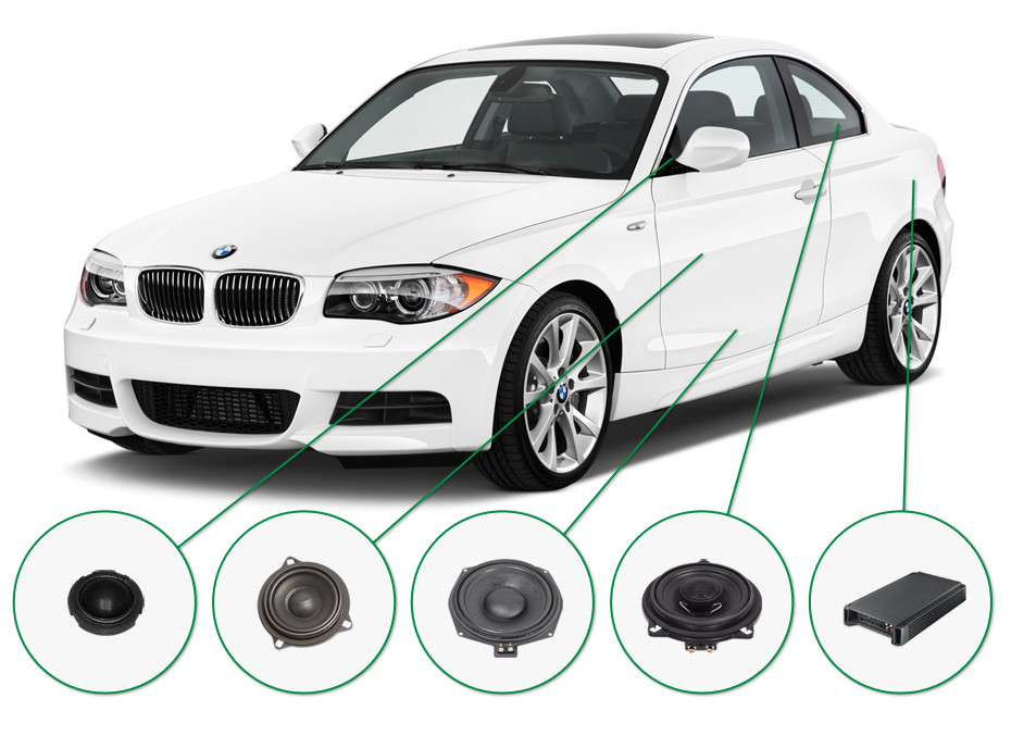 BMW 1 audio upgrade set 1