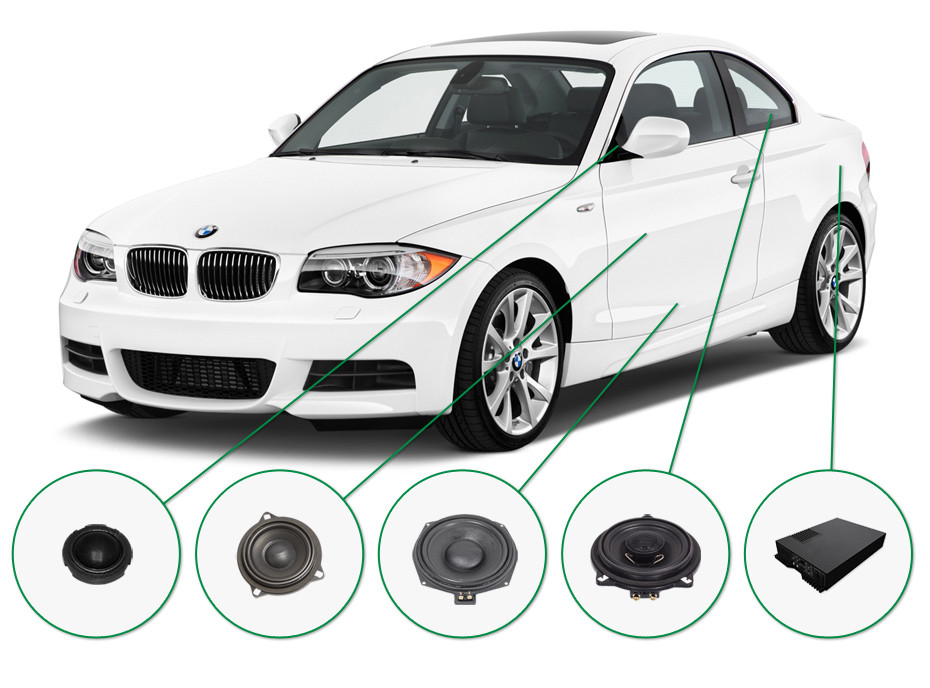 BMW 1 audio upgrade set 2