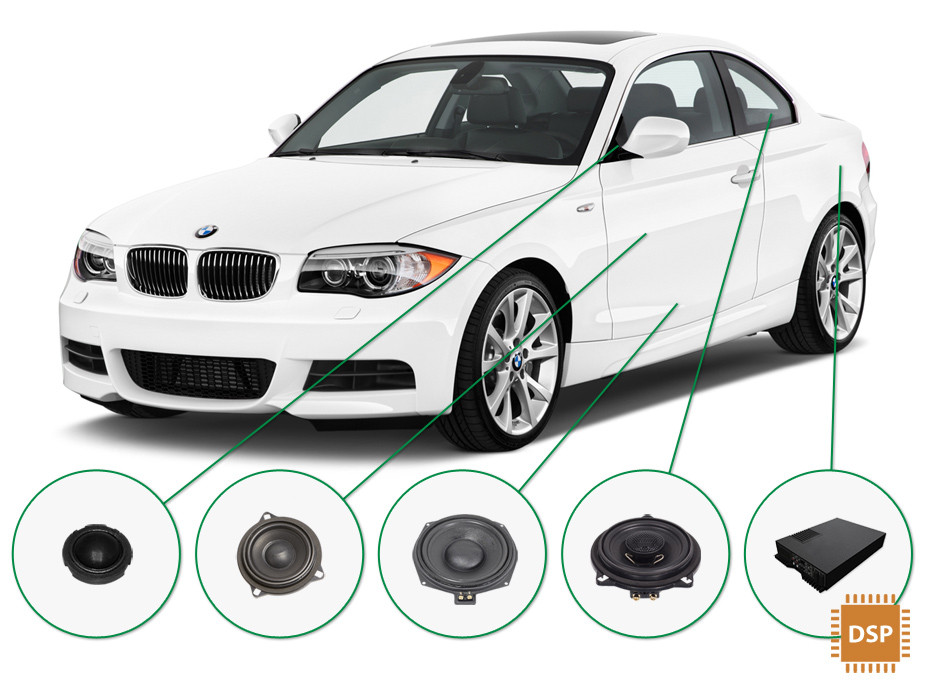 BMW 1 audio upgrade set 3