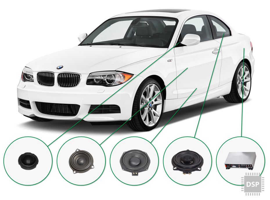 BMW 1 audio upgrade set 4