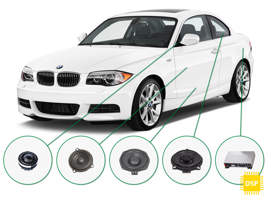 BMW 1 audio upgrade set 5