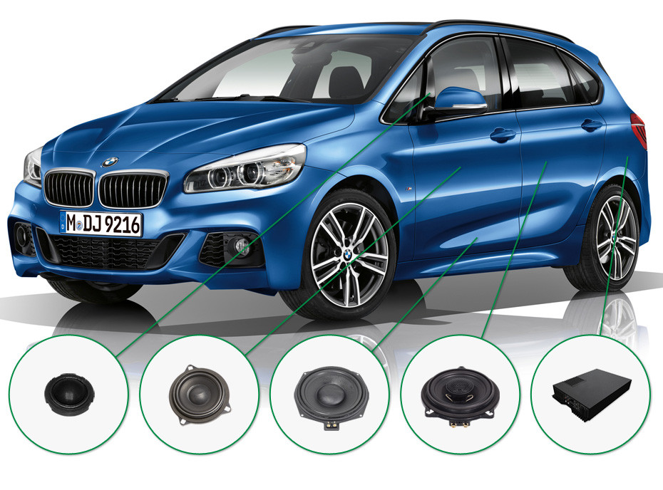 BMW 2 audio upgrade set 2