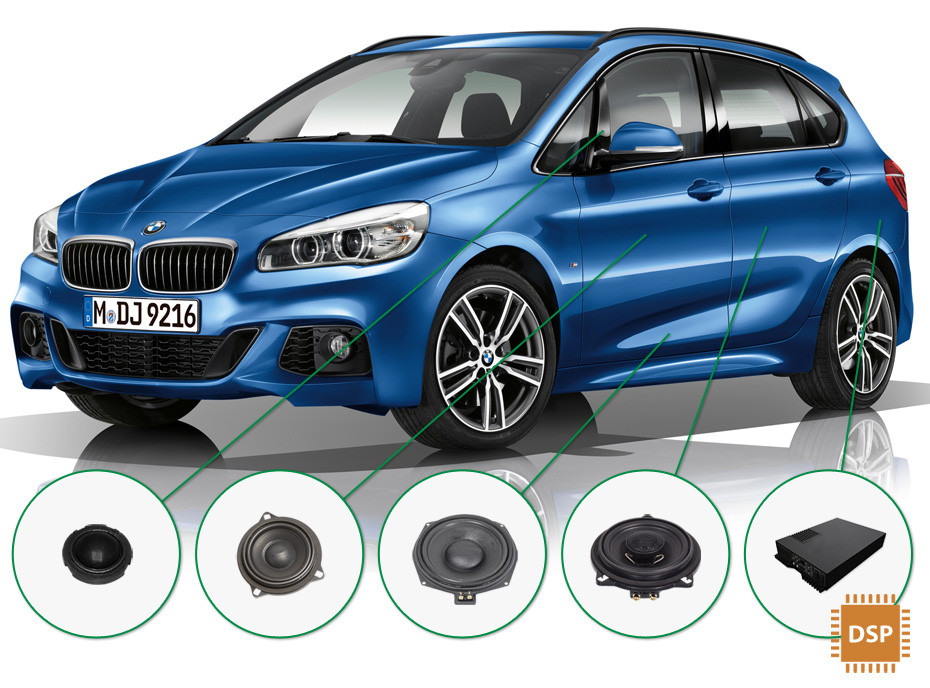 BMW 2 audio upgrade set 3
