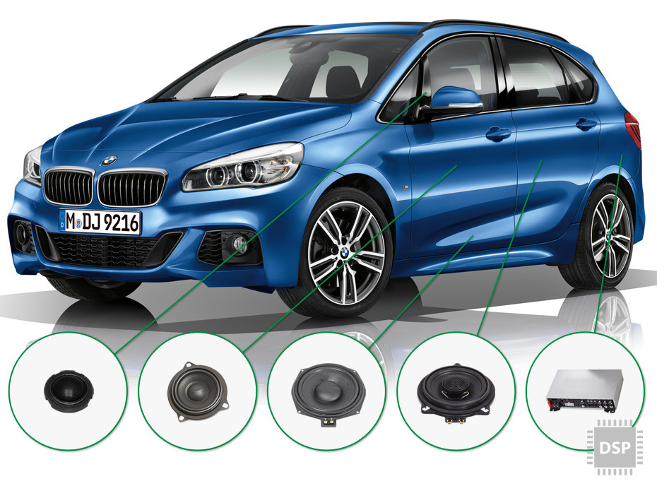 BMW 2 audio upgrade set 4