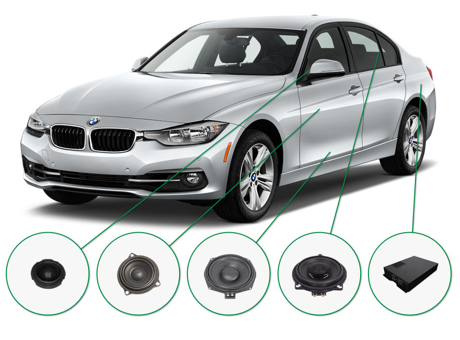 BMW 3 audio upgrade set 2