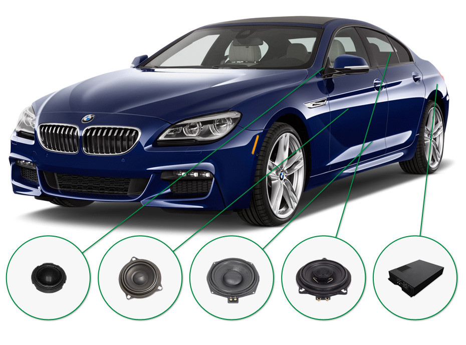 BMW 6 audio upgrade set 2