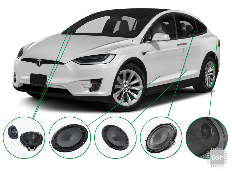 Tesla Audio Upgrade Set 2