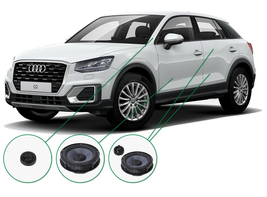 Audi Q2 Audio Upgrade Set 1