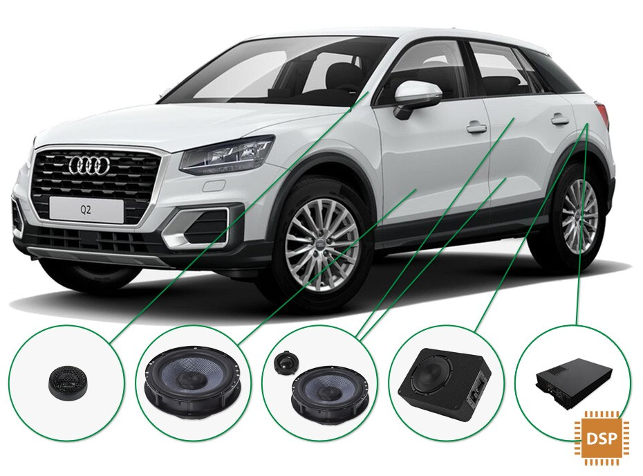 Audi Q2 Audio Upgrade Set 3