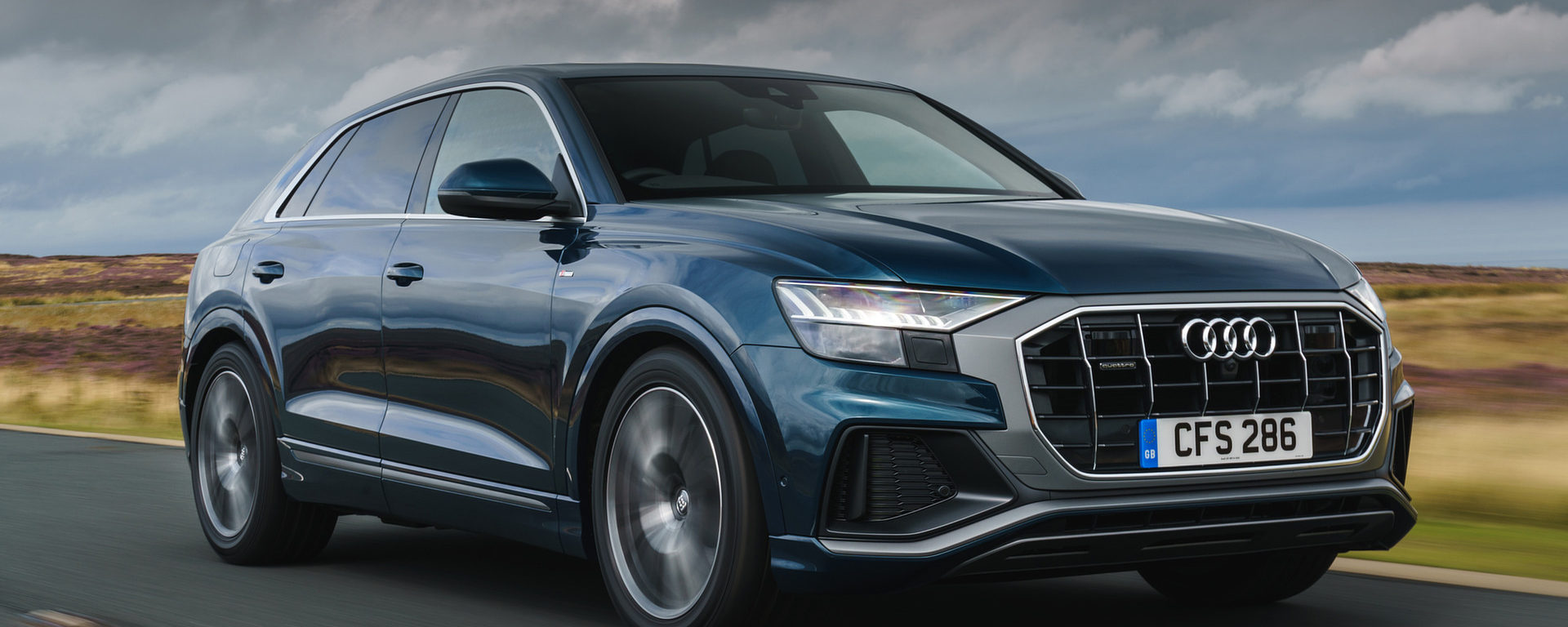 Audi Q8 audio upgrade