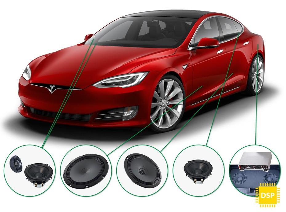 Tesla Model S Audio Upgrade
