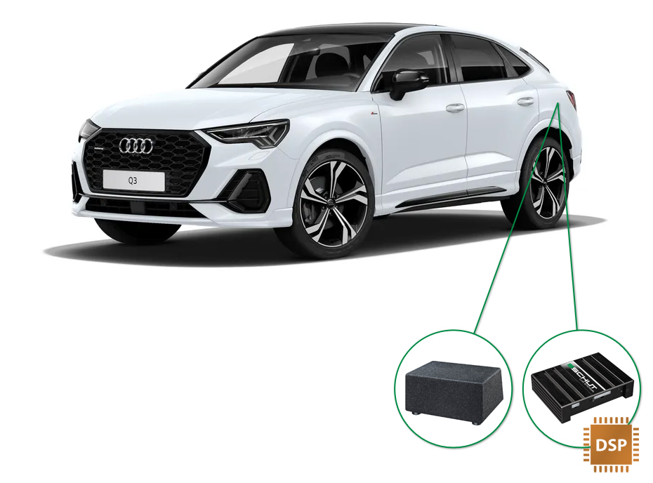 Audi Q3 audio upgrade set 6
