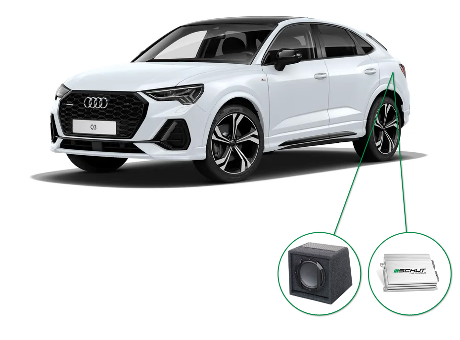 Audi Q3 audio upgrade set 8